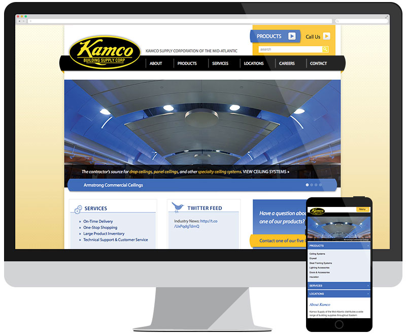 Kamco Supply Corporation Mid-Atlantic home page