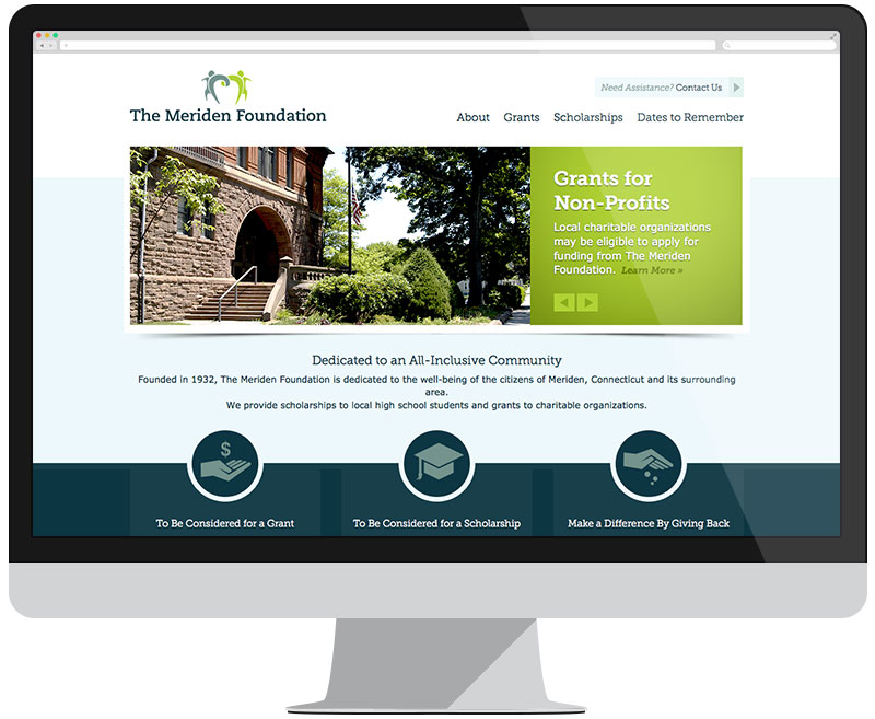 The Meriden Foundation home page