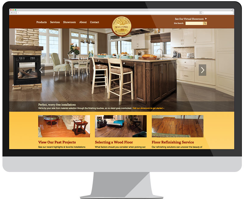 Neals Wood Flooring Homepage