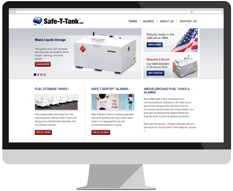Safe-T-Tank home page