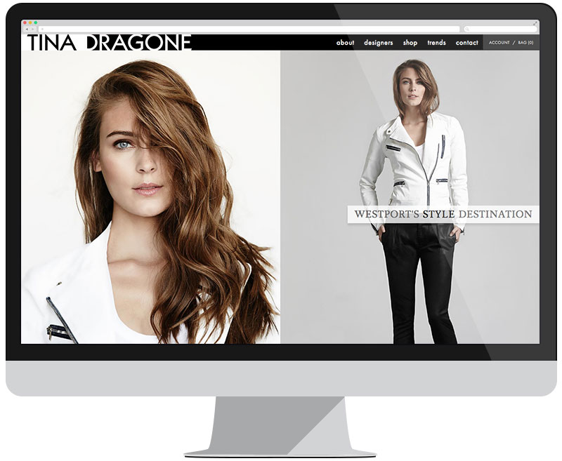 Tina Dragone Homepage