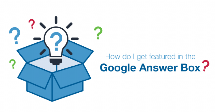 How to Get Your Web Content into the Google Answer Box