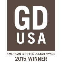 GD USA American Graphic Design Award 2015 Winner