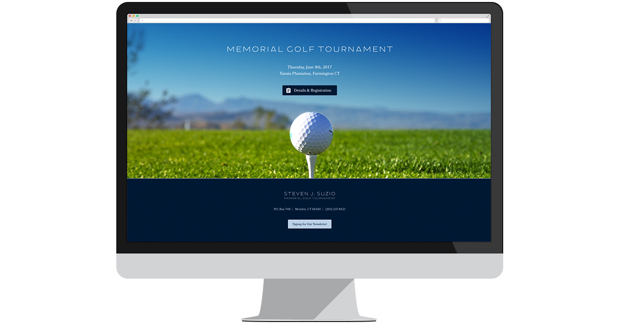 Suzio Memorial Golf Tournament New Website