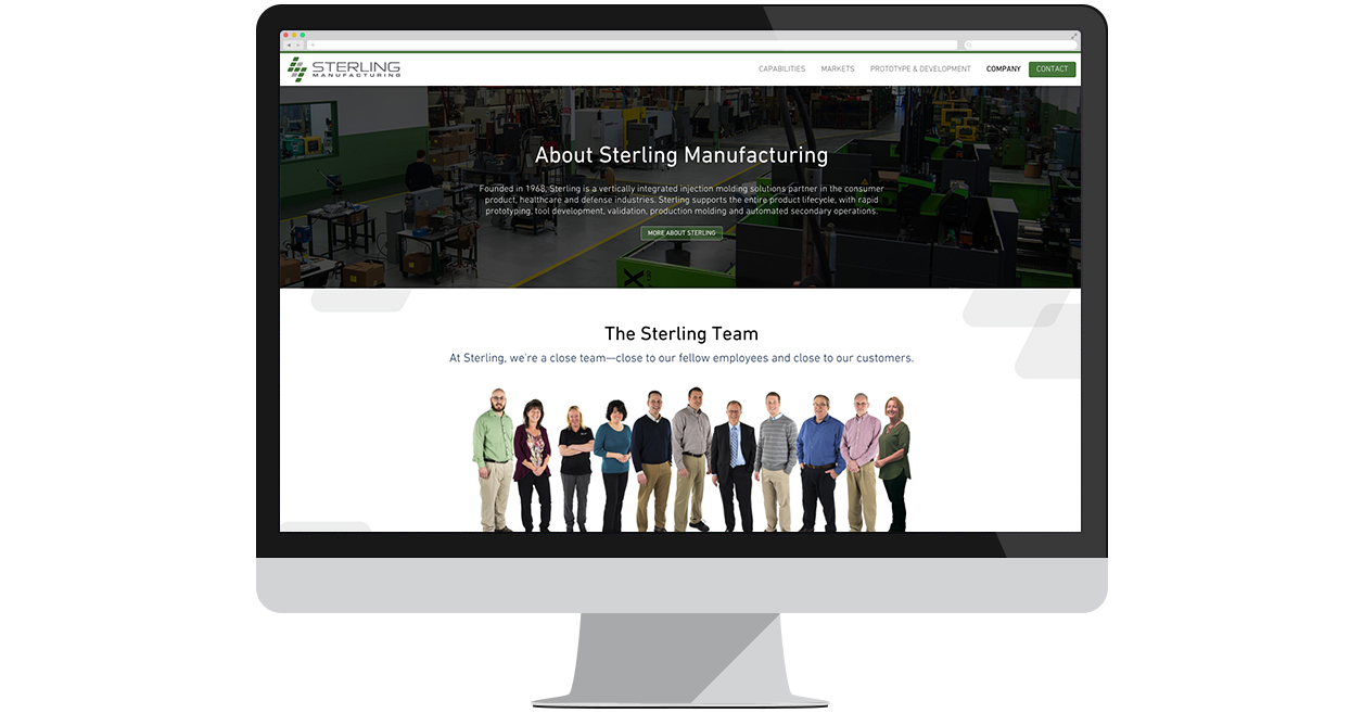 Sterling Launches New Site