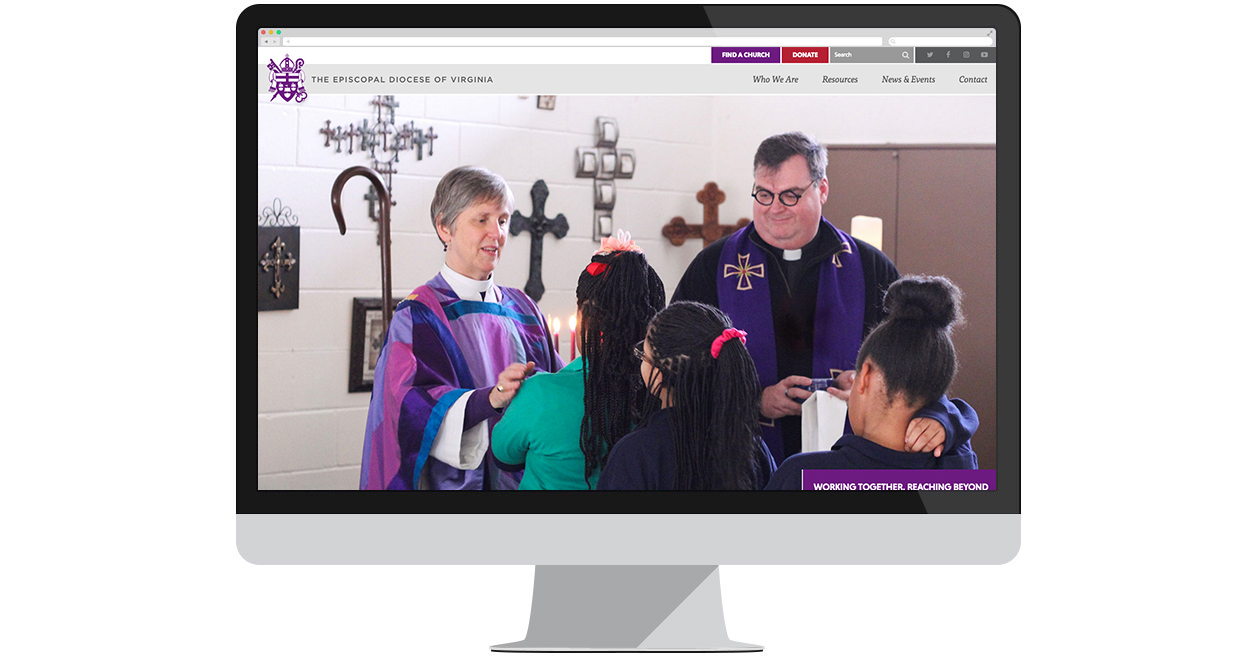 The Episcopal Diocese of Virginia's New Website by Web Solutions
