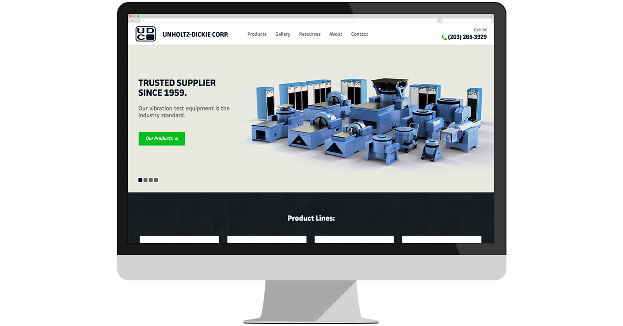 Unholtz-Dickie Corp.'s New Website!