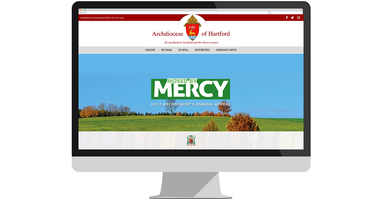 Hartford Archdiocese Launches New Site for Annual Appeal