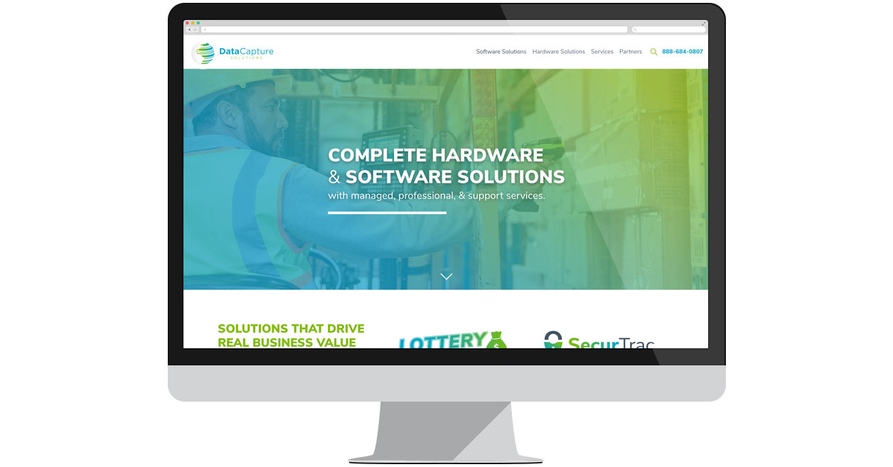 Data Capture Solutions Homepage