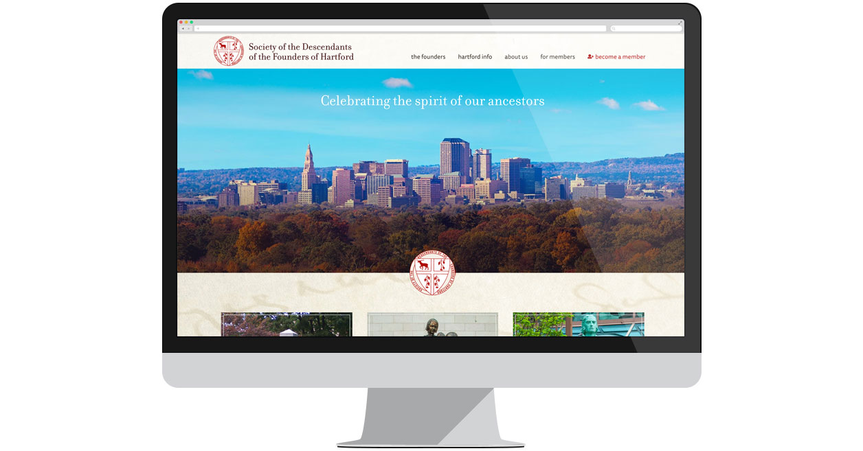 Society of the Descendants of the Founders of Hartford Homepage