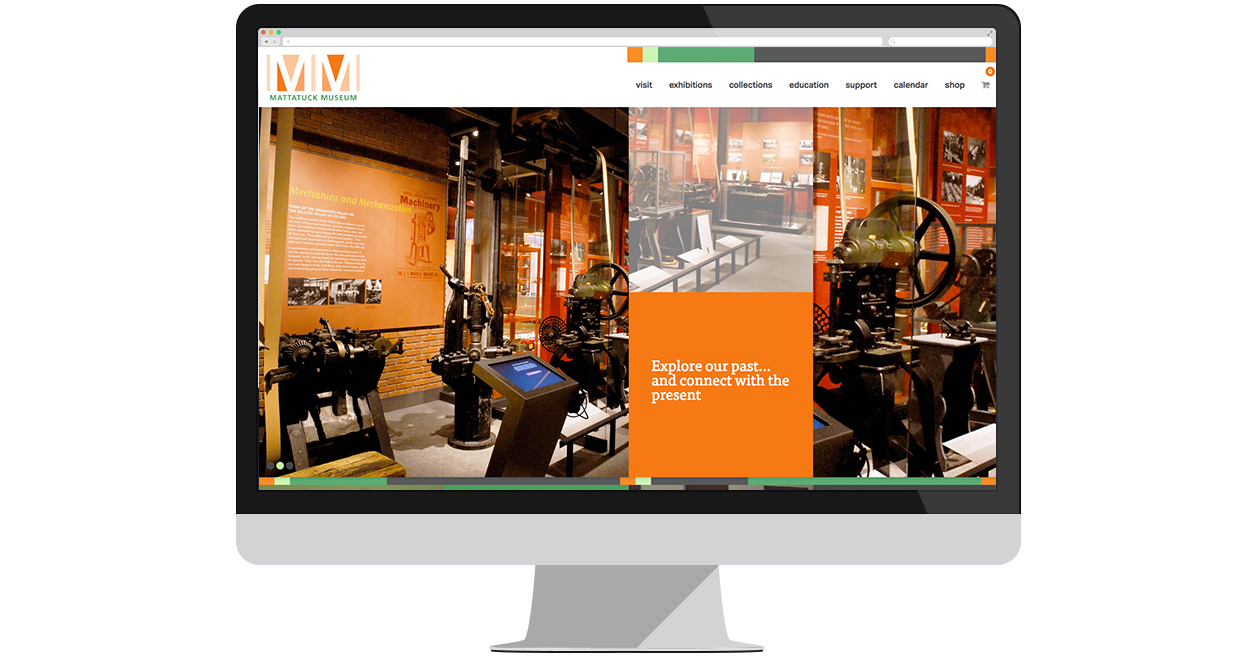 Mattatuck Museum's New Website by Web Solutions