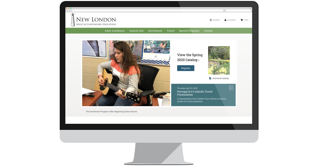 New London Adult & Continuing Education Homepage