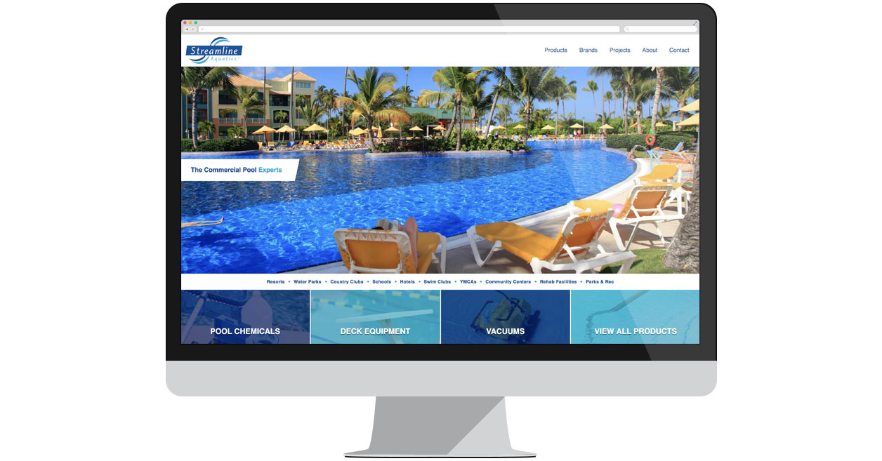 Streamline Aquatics Website