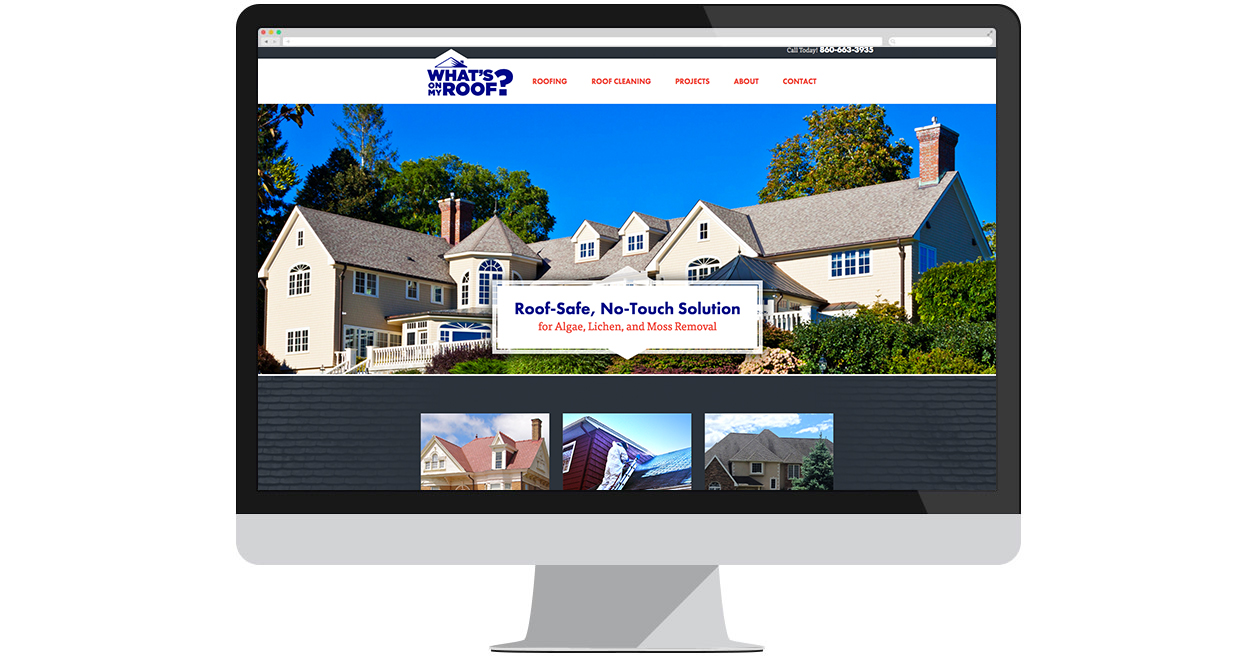 What's On My Roof? Site Screen Shot