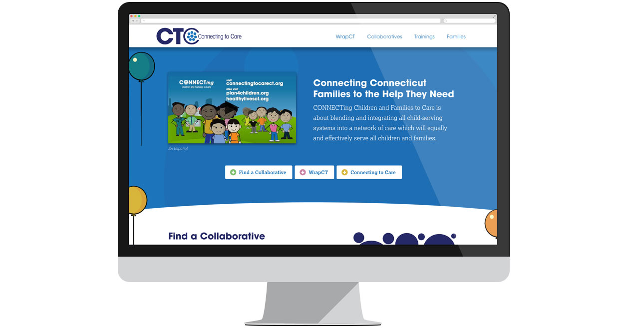 Connecting to Care Homepage