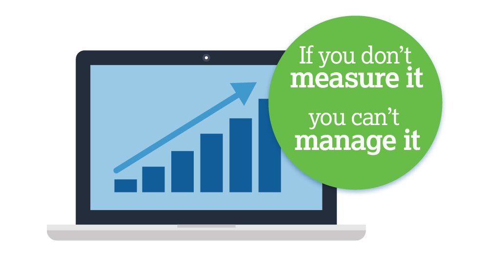 If you don't measure it you can't manage it