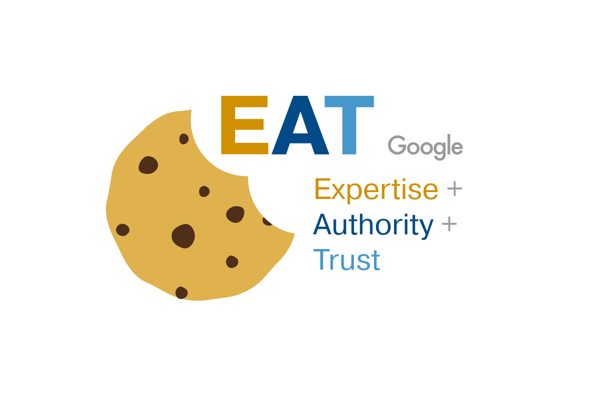 E-A-T, Expertise, Authority, Trust graphic