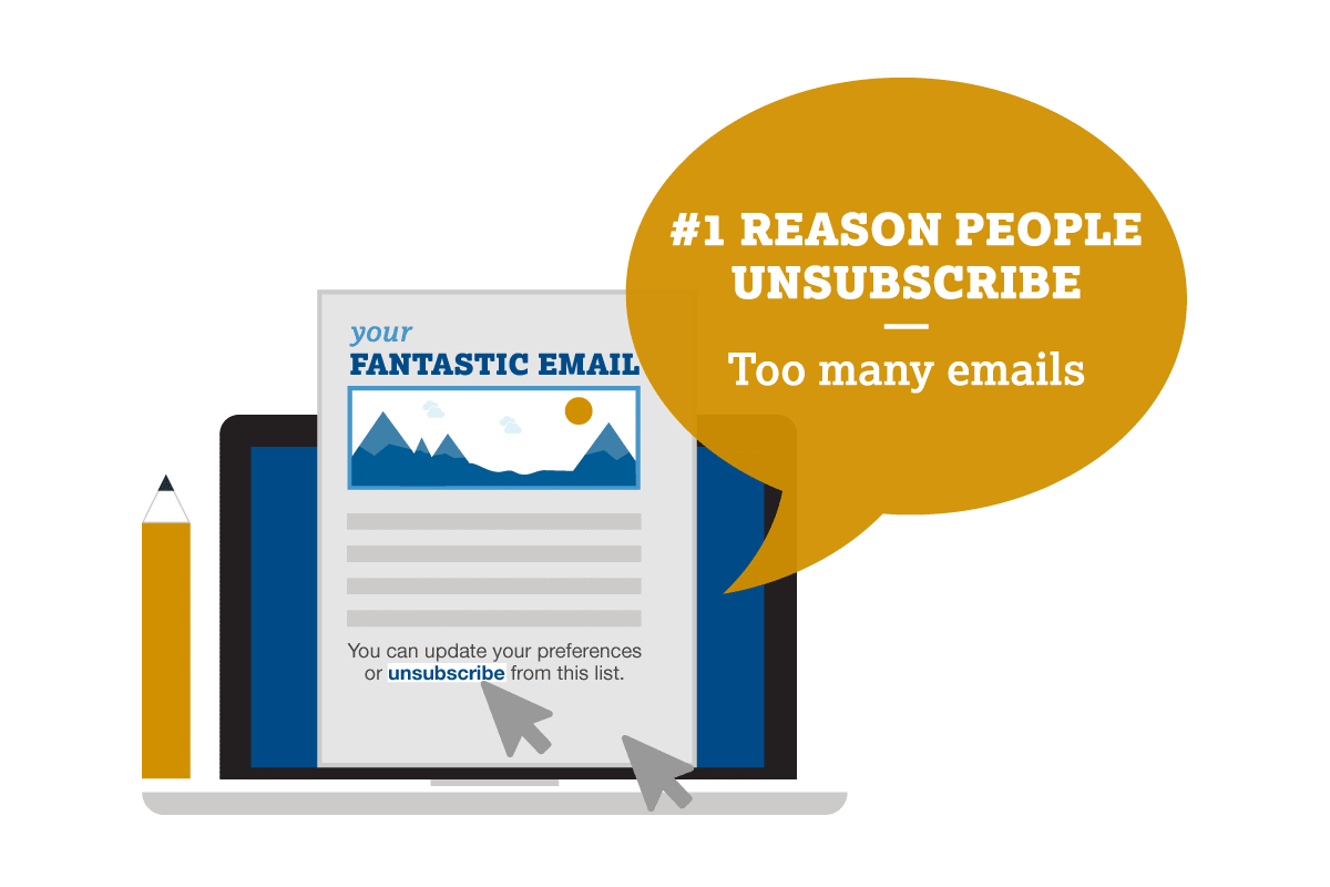 how to deal with email unsubscribes Image