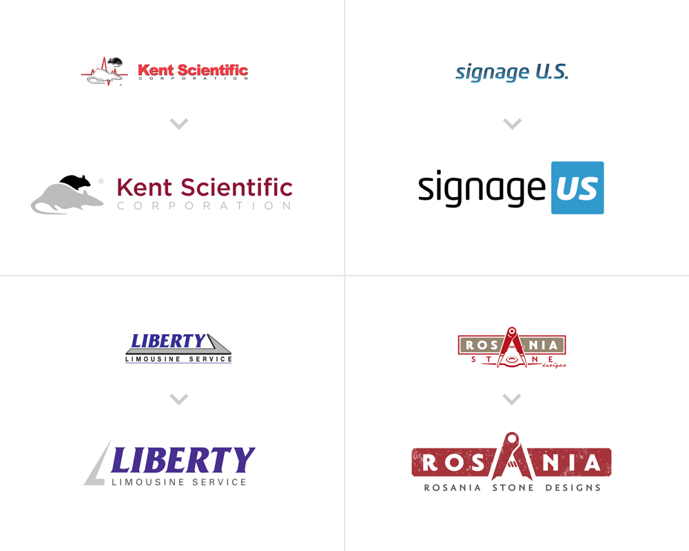 Logo Refresh Examples