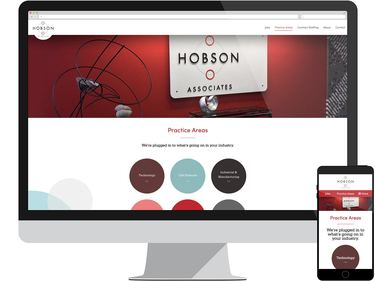 Landing Page - Practice Areas