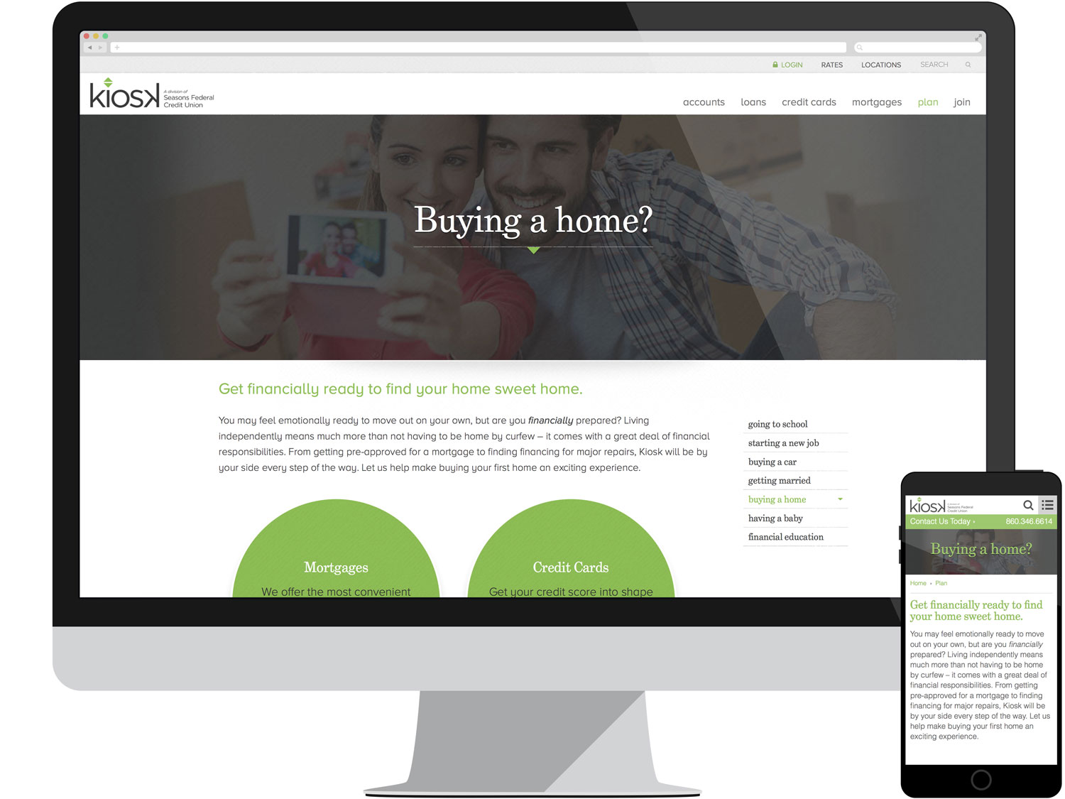 Landing Page - Home