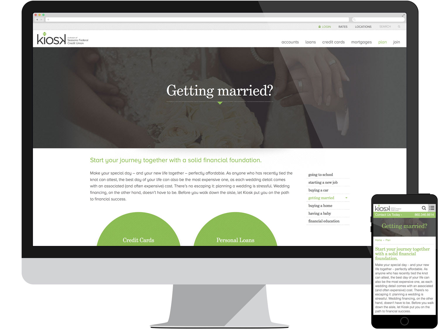 Landing Page - Marriage