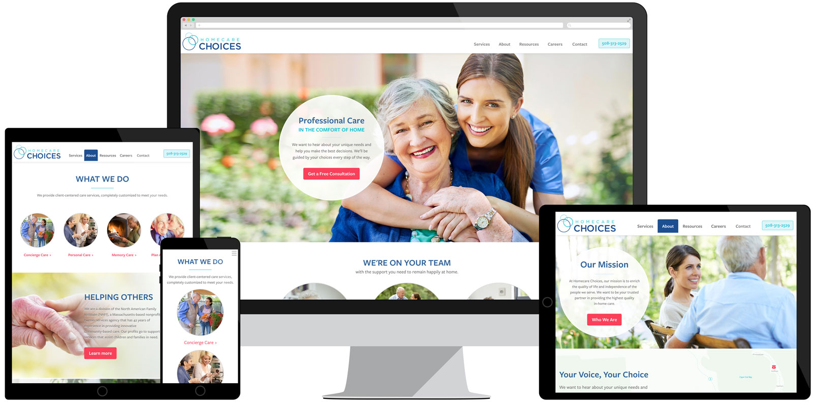 Homecare Choices Website
