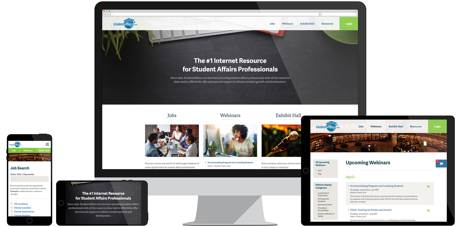 Student Affairs Website