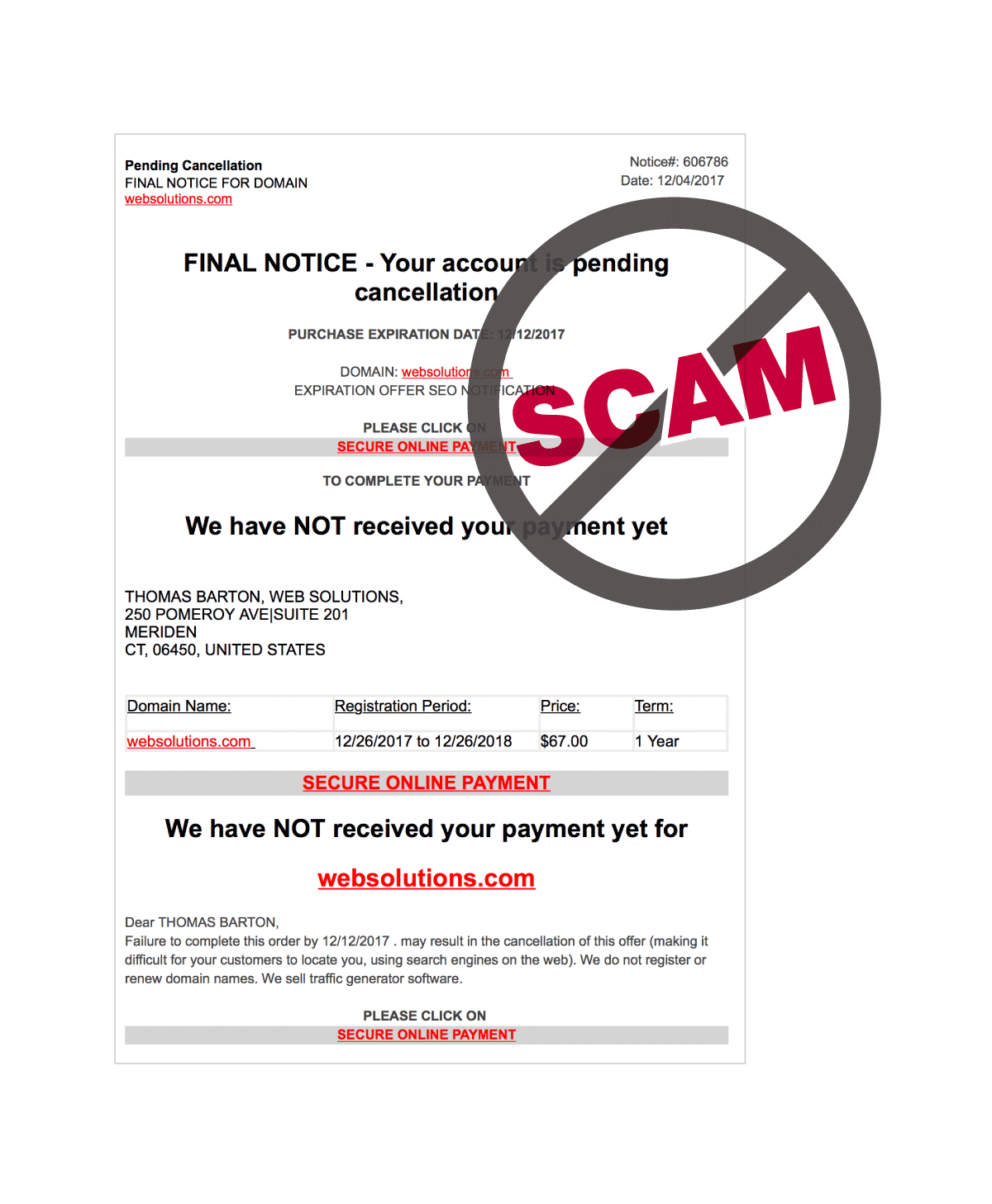 Other Scams graphic
