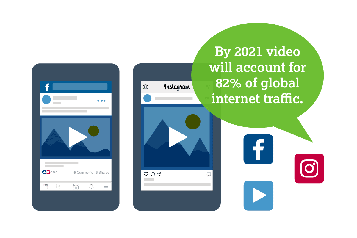 social video graphic
