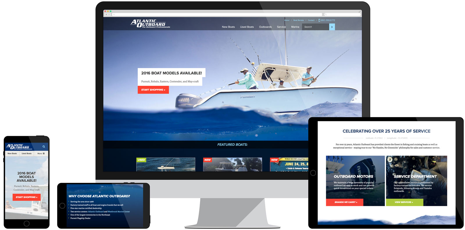 Atlantic Outboard website