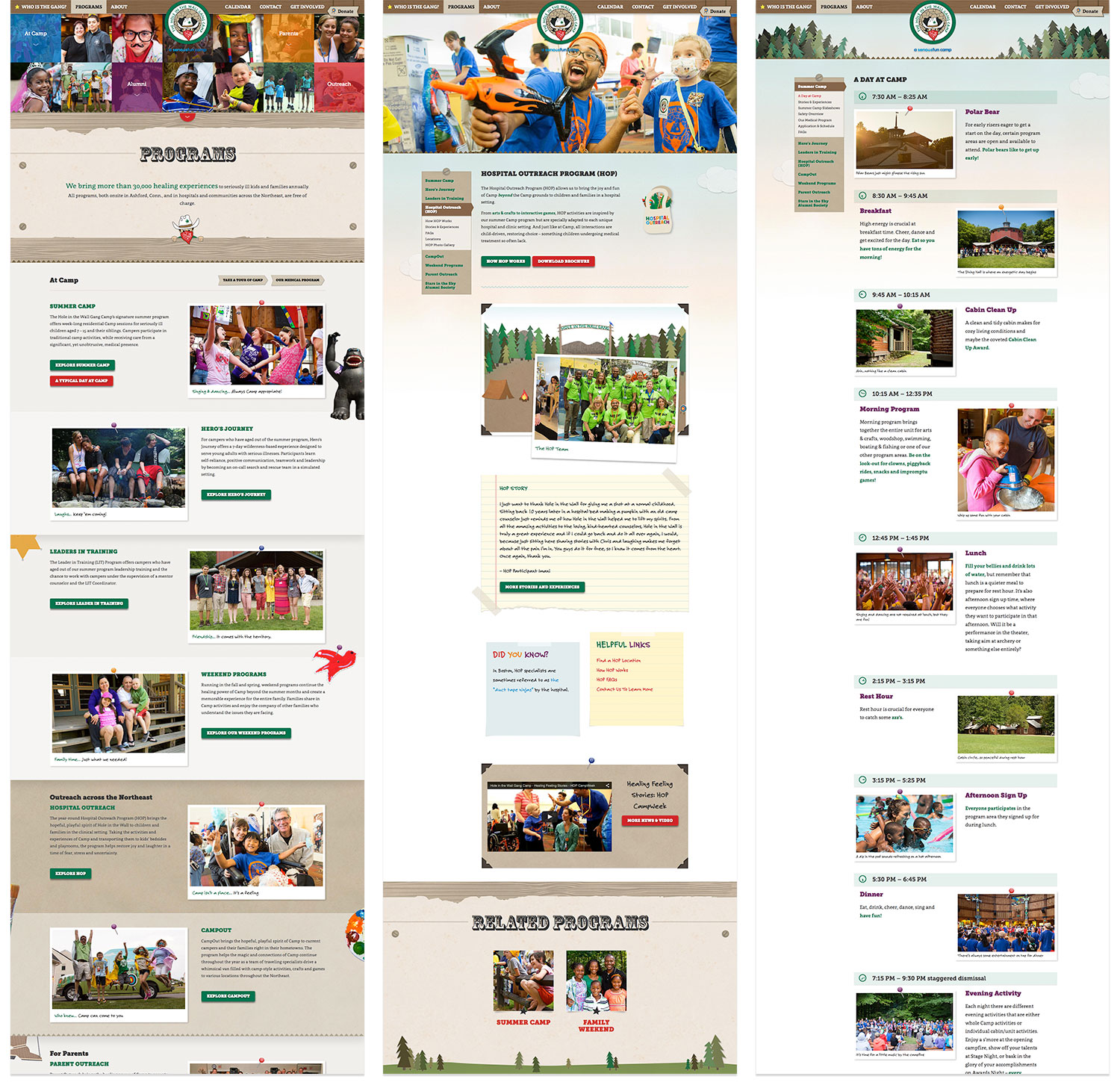 Programs Pages