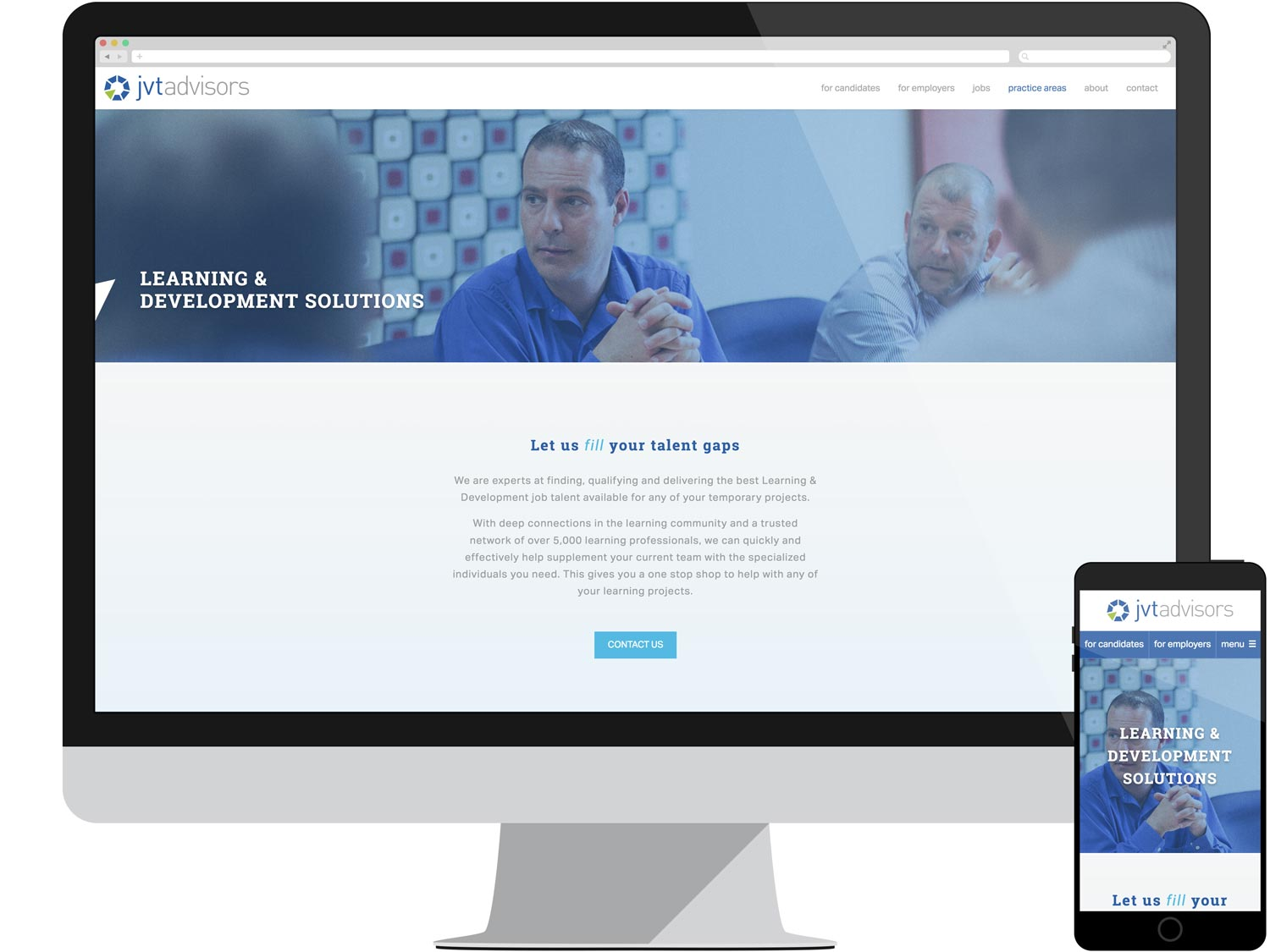 Landing Page - Learning & Development Solutions