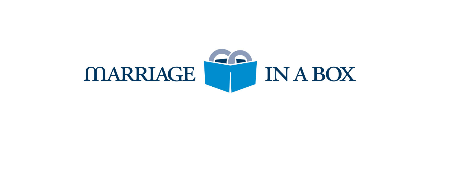 Brand identity for Marriage In A Box
