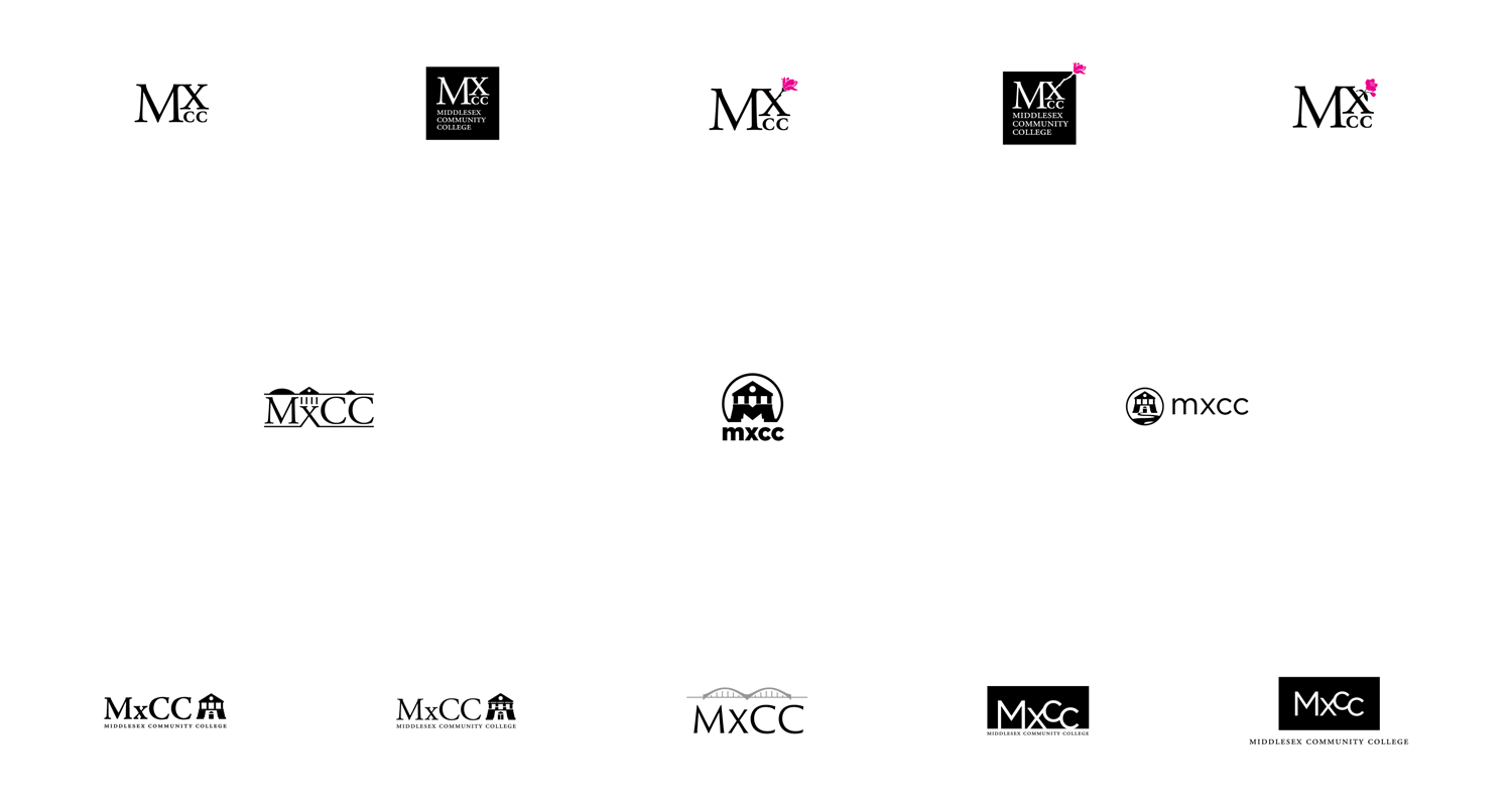 Identity design concepts for MxCC