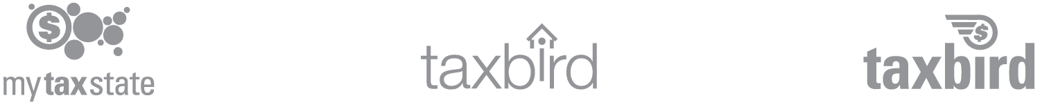 taxbird logo alternates
