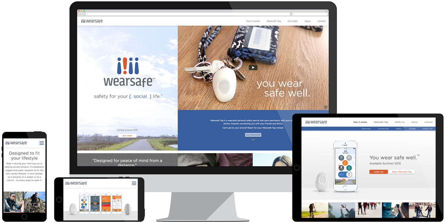 Wearsafe Website Development