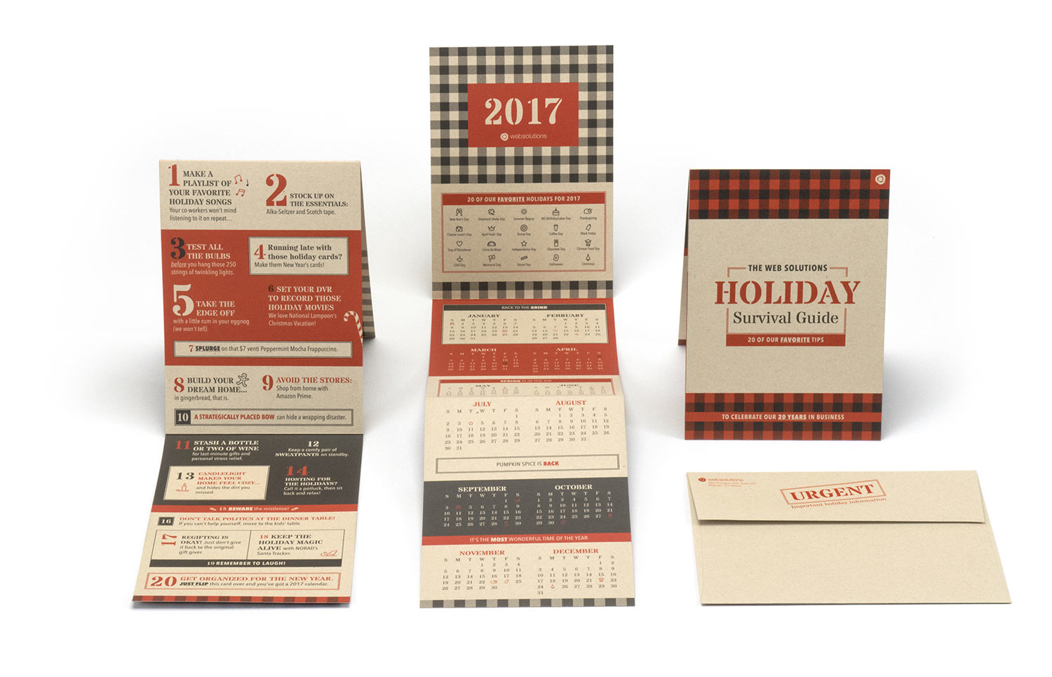 Web Solutions 2016 Holiday Card