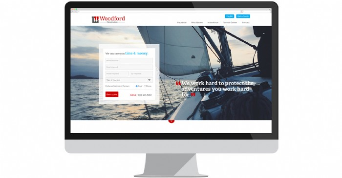 AE Woodford Insurance Caters to Clients With New Website