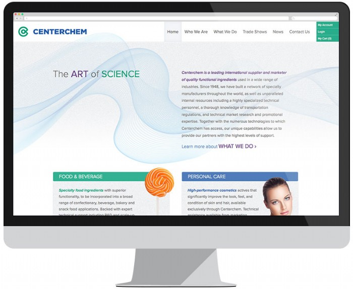 Brand New Website for Centerchem