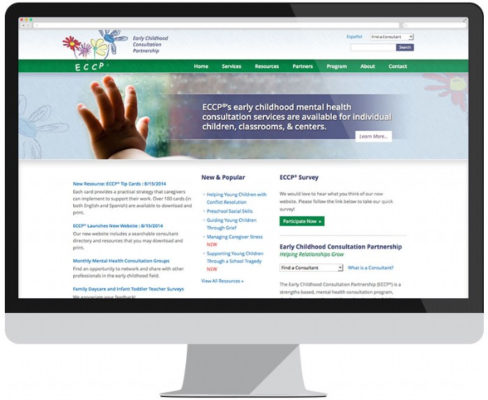 Brand New Website for ECCP®