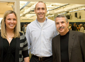 Web Solutions Team Members Meet Author Tom Friedman