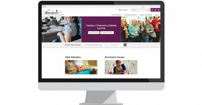 Manchester Adult Ed Launches New Website