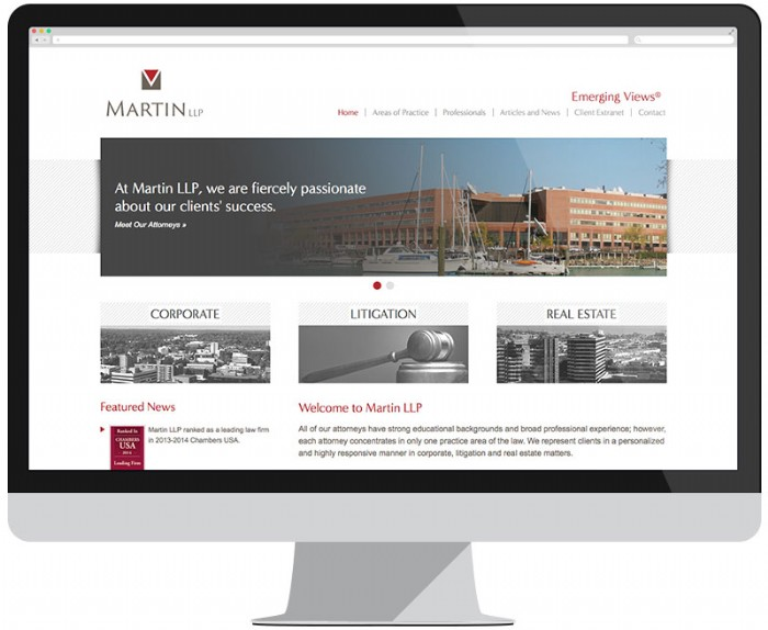 Newly Designed Website Showcases Martin LLP Law Firm