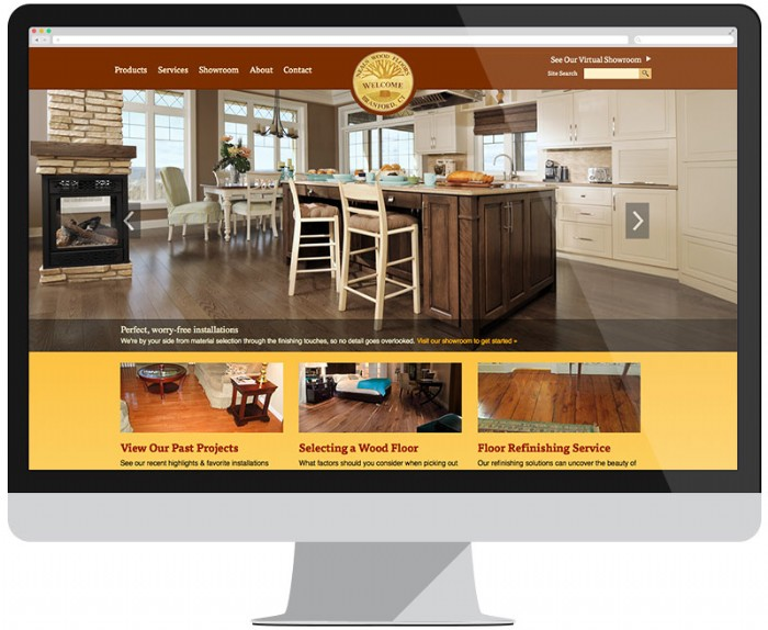Neal's Wood Floors Website Gets Refinished