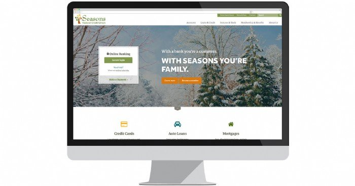 Seasons FCU Launches New Website for Members