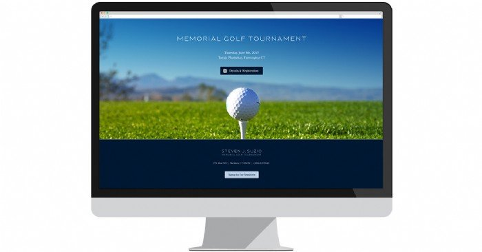 Suzio Memorial Golf Tournament Launches Site to Promote Annual Event