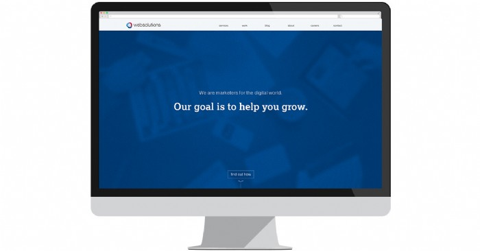Web Solutions Launches New Website