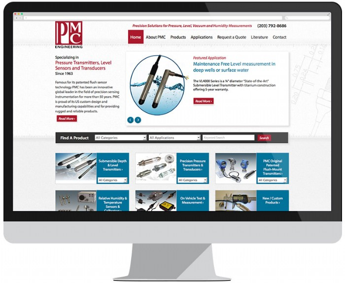 PMC's Website Gets a Redesign