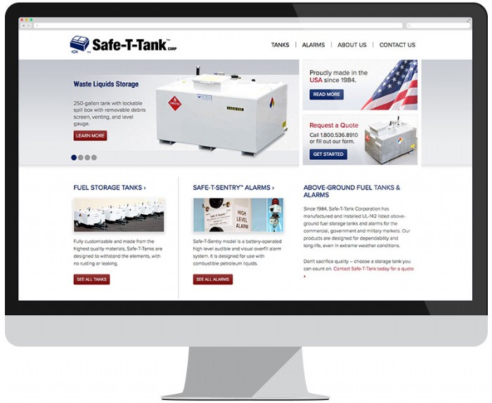 Safe-T-Tank Gets a New Website